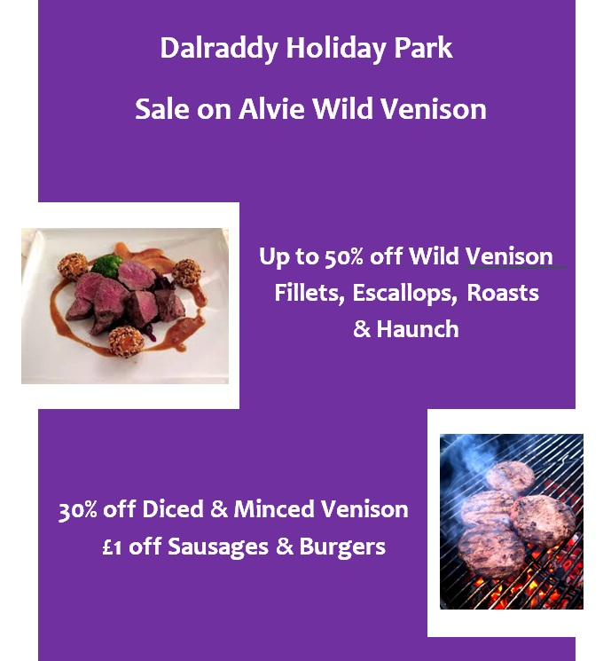 Up to 50% off Venison