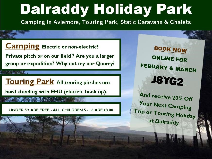 Discounted Camping & Touring