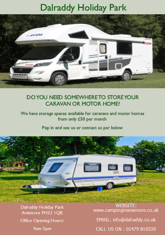 Caravan and motorhome storage